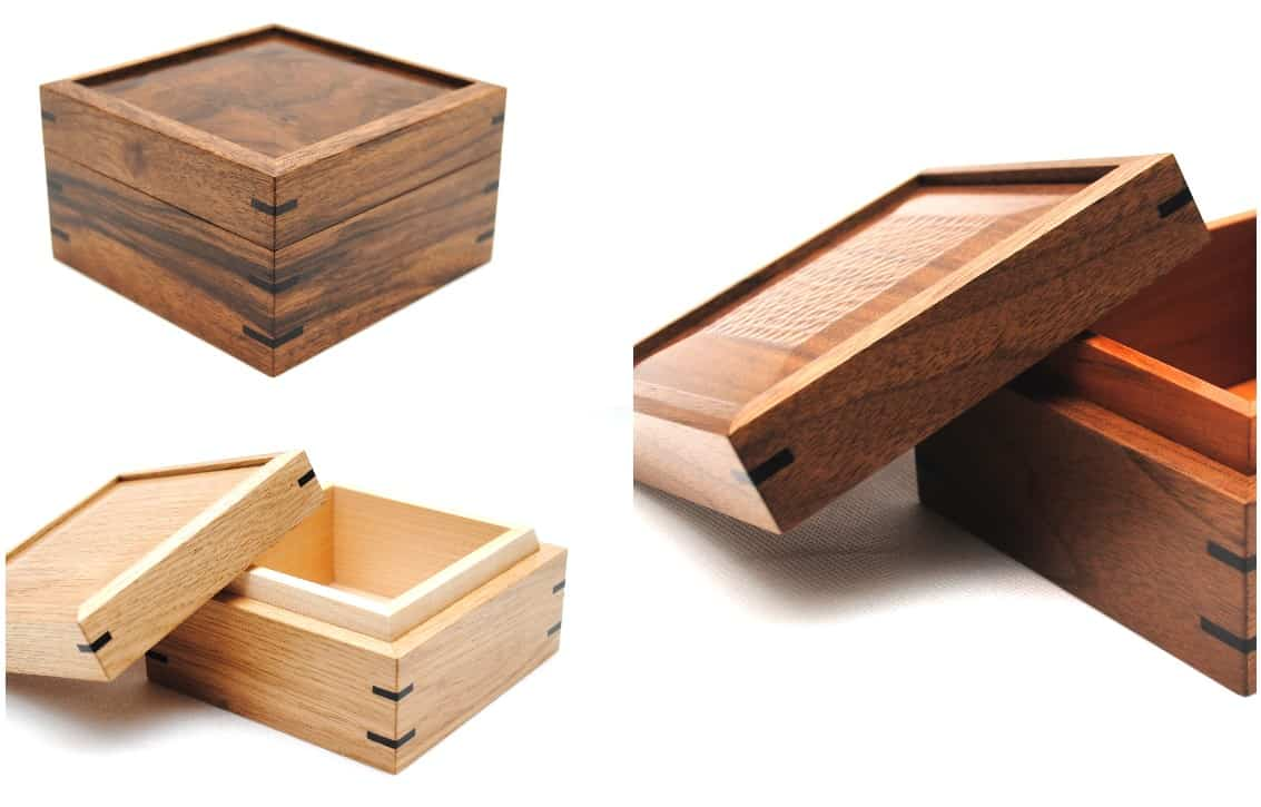Occasional Boxes by Edward Wild